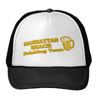 Camisetas de consumición del equipo de Manhattan B Gorros