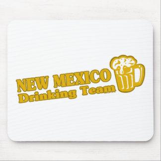 Camisetas de consumición del equipo de New México Tapete De Ratones