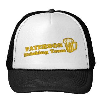 Camisetas de consumición del equipo de Paterson Gorras De Camionero
