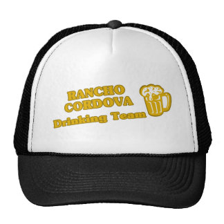 Camisetas de consumición del equipo de Rancho Cord Gorro