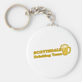 Camisetas de consumición del equipo de Scottsdale Llavero Redondo Tipo Pin
