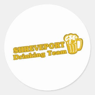 Camisetas de consumición del equipo de Shreveport Etiquetas