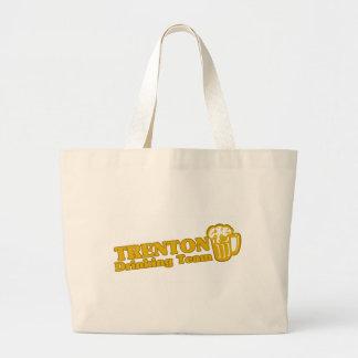 Camisetas de consumición del equipo de Trenton Bolsa Tela Grande