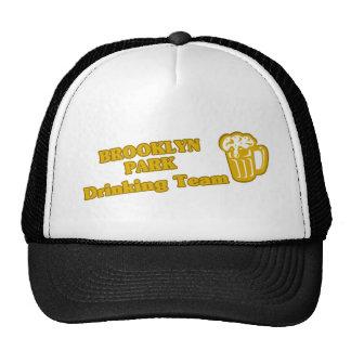 Camisetas de consumición del equipo gorras de camionero