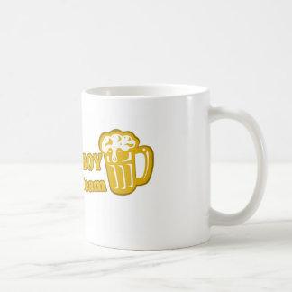 Camisetas de consumición del equipo tazas de café
