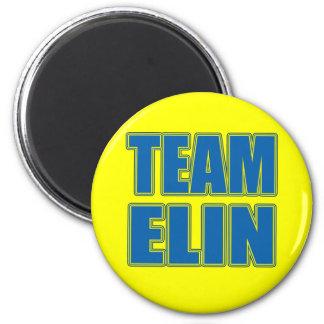 Camisetas de Elin del equipo, sudaderas con capuch Imán Redondo 5 Cm