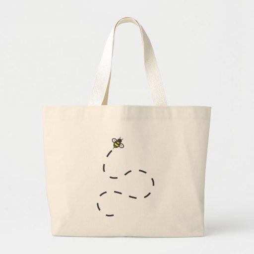 Camisetas de encargo: Camisetas de la abeja del Bolsa Tela Grande