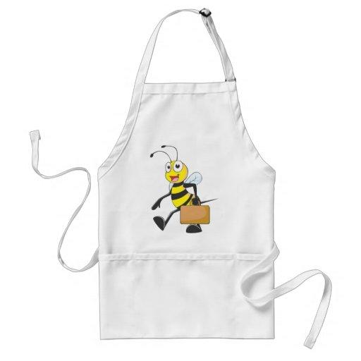 Camisetas de encargo: Camisetas de la abeja del ho Delantal