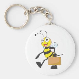 Camisetas de encargo: Camisetas de la abeja del ho Llavero Personalizado