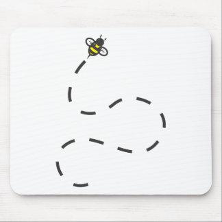 Camisetas de encargo: Camisetas de la abeja del ra Tapetes De Ratón