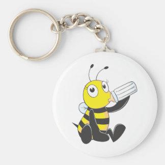 Camisetas de encargo: Camisetas feliz de la abeja  Llaveros Personalizados