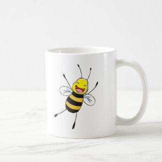 Camisetas de encargo: Camisetas feliz de la abeja Taza De Café