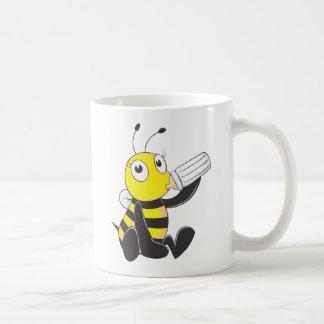 Camisetas de encargo: Camisetas feliz de la abeja  Tazas De Café
