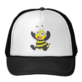 Camisetas de encargo de la abeja del camisetas gorras de camionero