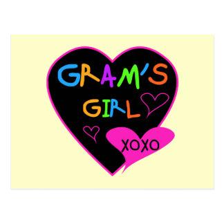 Camisetas de encargo del chica del gramo, tazas, postal