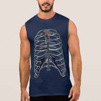 camisetas de encargo del lacrosse remera sin mangas