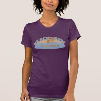 Camisetas de encargo del vago de la playa - elija
