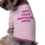 Camisetas de encargo para la PLANTILLA FÁCIL de lo Camisetas De Mascota