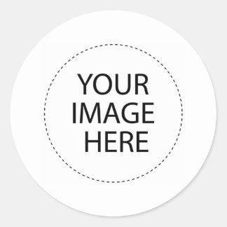 Camisetas de encargo y más plantilla de la imagen pegatinas redondas