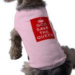 Camisetas de God Save the Queen, bolsos, regalos Playera Sin Mangas Para Perro