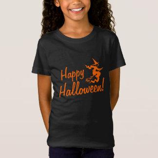 Camisetas de Halloween para la bruja de los niños