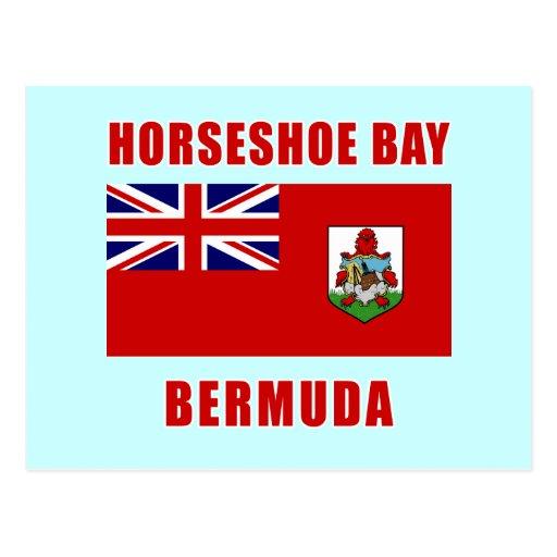 Camisetas DE HERRADURA de Bermudas de la BAHÍA, Postal