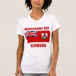 Camisetas DE HERRADURA de Bermudas de la BAHÍA, re