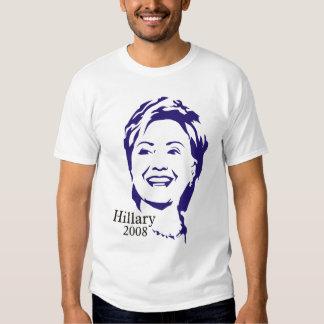 Camisetas de Hillary Clinton Playera