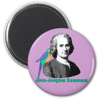 Camisetas de Jean-jacques Rousseau, sudaderas con  Imán Redondo 5 Cm