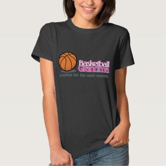 Camisetas de la abuela del baloncesto playera