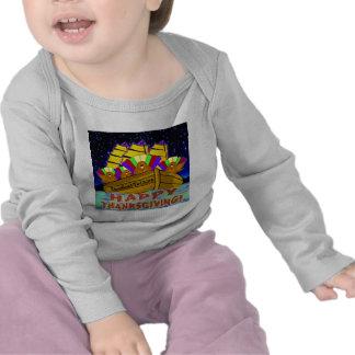 Camisetas de la acción de gracias