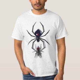 Camisetas de la araña y de la mosca