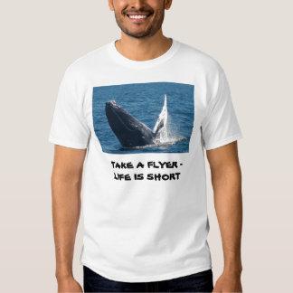Camisetas de la ballena polera