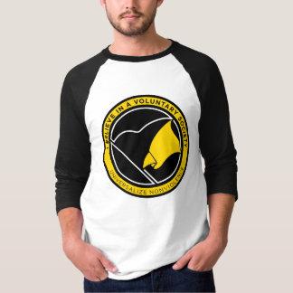 Camisetas de la bandera de AnCap Playeras