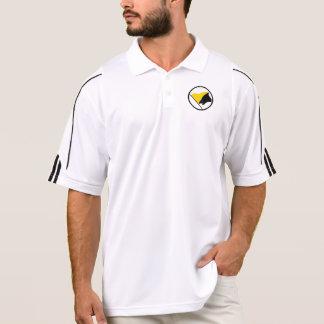 Camisetas de la bandera de AnCap Playeras Polo