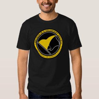 Camisetas de la bandera de AnCap Poleras