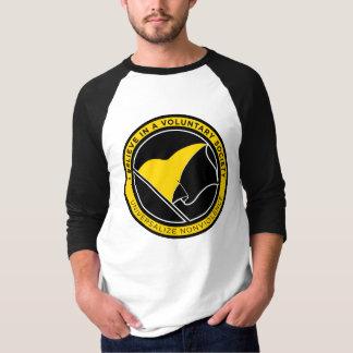 Camisetas de la bandera de AnCap Remera