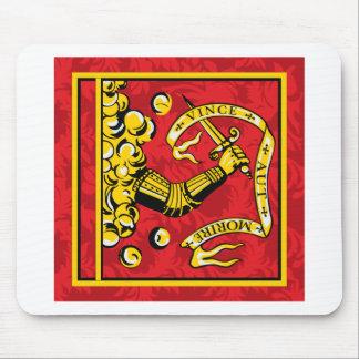 Camisetas de la bandera de Bedford Alfombrillas De Ratones
