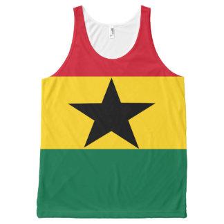 Camisetas de la bandera de Ghana