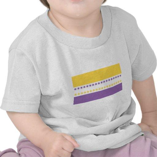 Camisetas de la bandera de las derechas de las muj