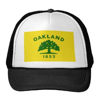 Camisetas de la bandera de Oakland Gorro
