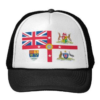 Camisetas de la bandera del Imperio británico Gorro De Camionero