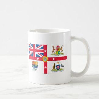 Camisetas de la bandera del Imperio británico Taza