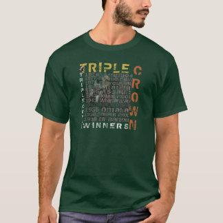 Camisetas de la carrera de caballos de los
