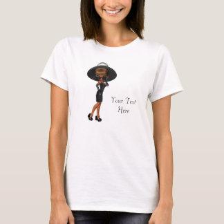 Camisetas de la diva de la mujer