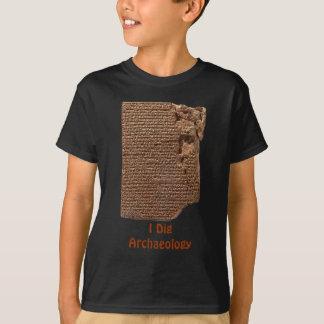 "Camisetas de la ""escritura cuneiforme sumeria"" polera"
