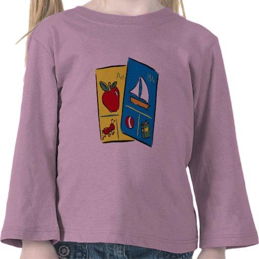 Camisetas de la escuela de los niños y regalos de