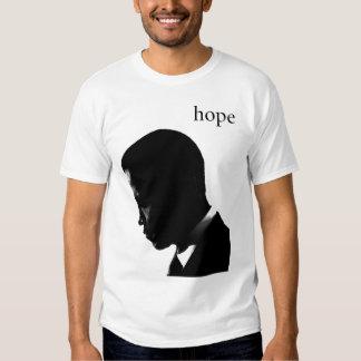 Camisetas de la esperanza de Barack Obama Camisas
