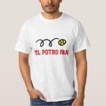 Camisetas de la fan de tenis de Del Potro para las