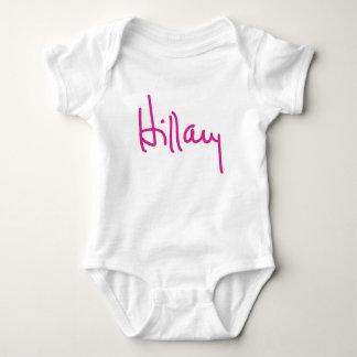Camisetas de la firma de Hillary